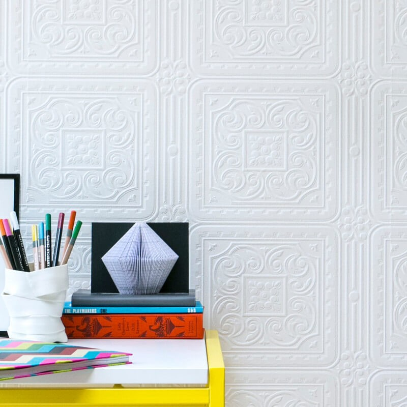 Papel pintable Anaglypta Turner Tile RD80000 A