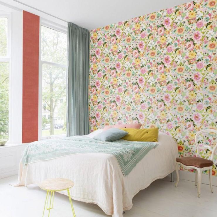 papel pintado tropical de decoas papel pintado online