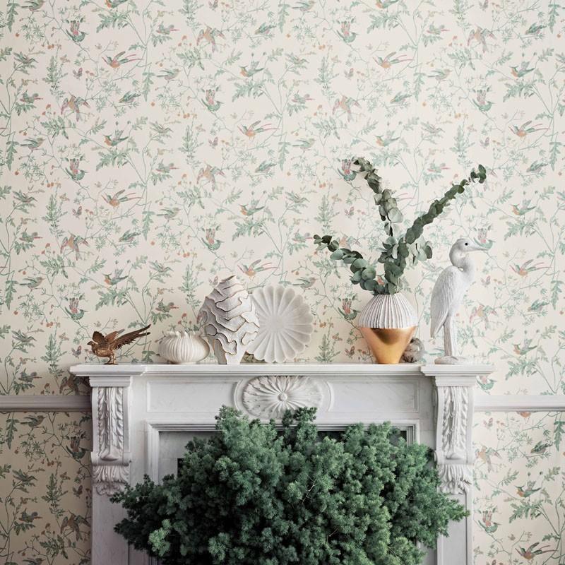 Papel pintado Cole & Son Icons Hummingbirds 112-4016 A