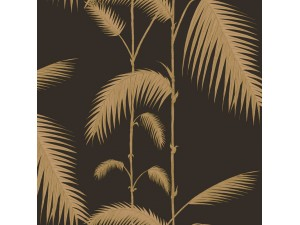Papel pintado Cole & Son Marquee Stripes Palm Leaves 66-2014