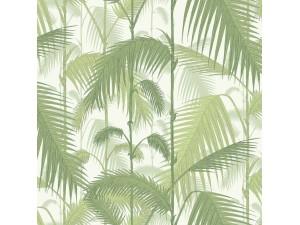 Papel pintado Cole & Son Marquee Stripes Palm Jungle 95-1001