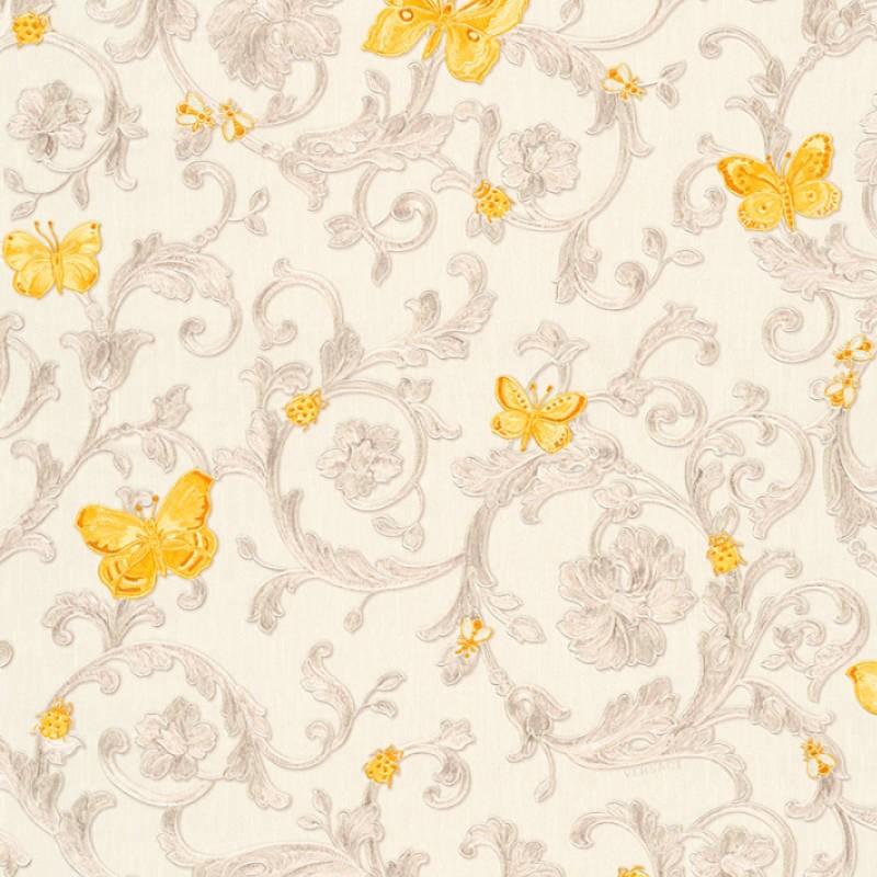 Papel pintado Versace Home Versace III Butterfly Barocco 34325-3