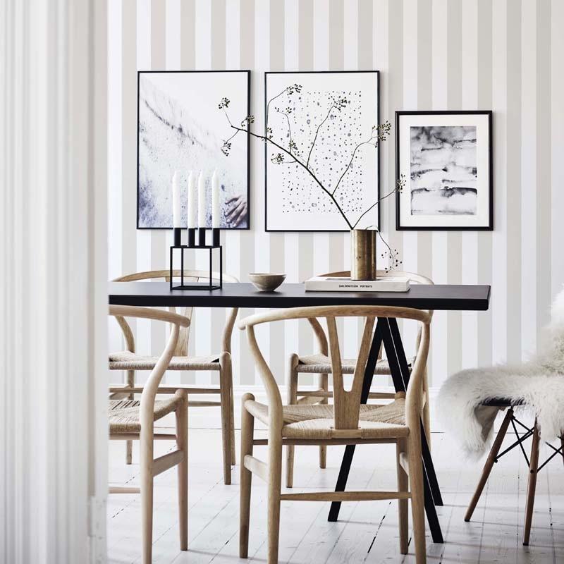Papel pintado Sandberg Rand Scandinavian Stripes William 526-21 A