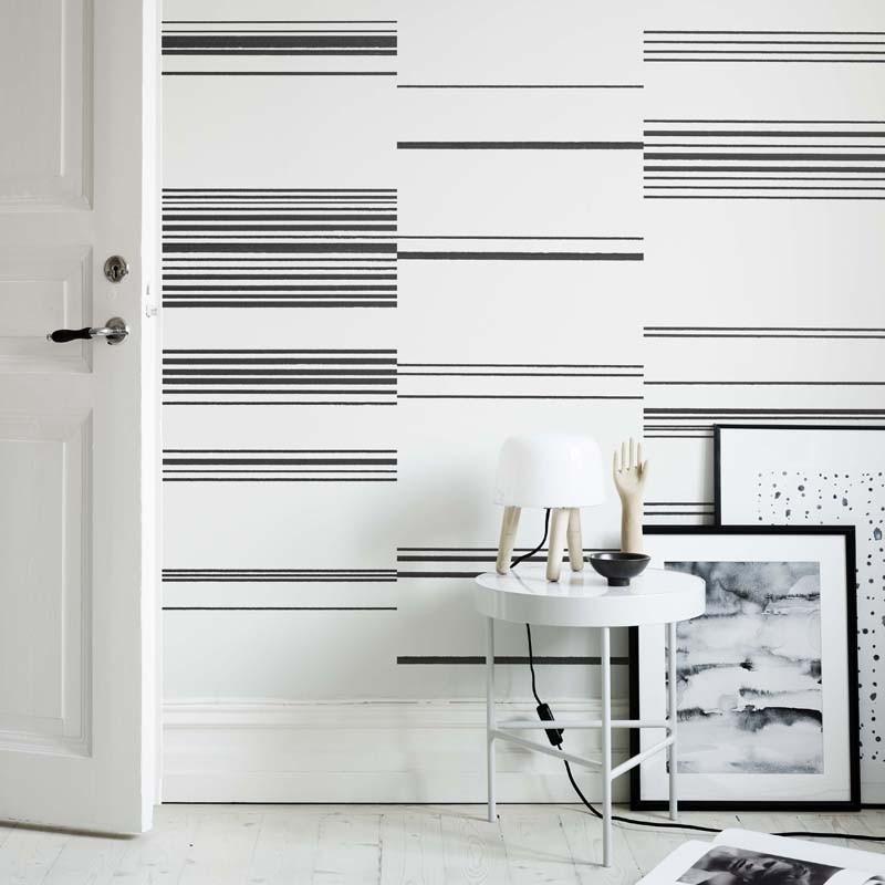 Papel pintado Sandberg Rand Scandinavian Stripes Kallio 634-01 A