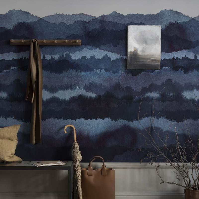 Mural decorativo Sandberg Oas Midnatt 637-04 A