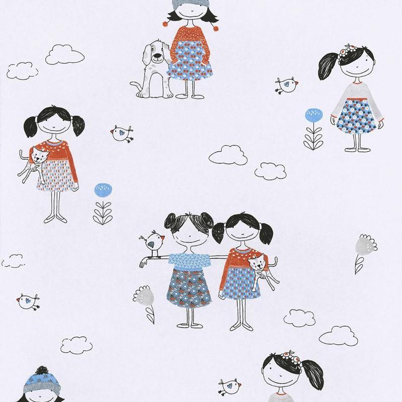 Papel pintado Khroma Zoom Cuddles & Hugs Lise HUG102
