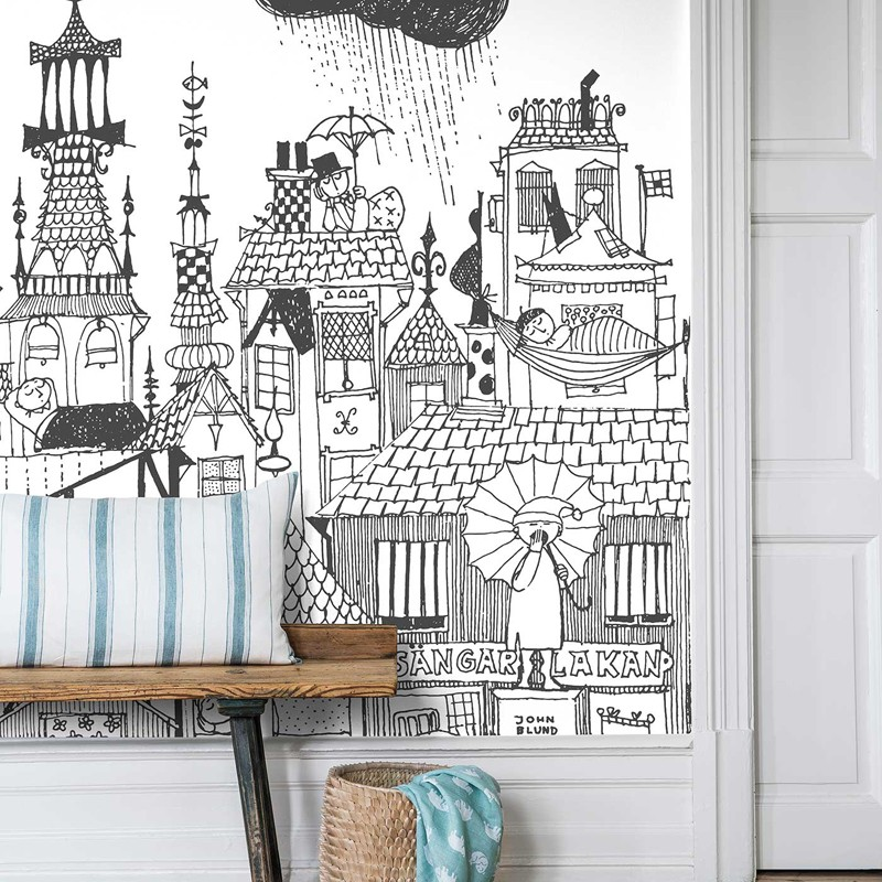 Mural decorativo Boras Tapeter Scandinavian Designers Mini 6273 A