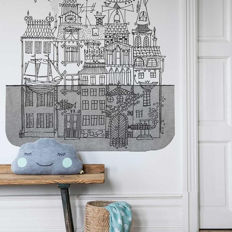 Mural decorativo Boras Tapeter Scandinavian Designers Mini 6274 A