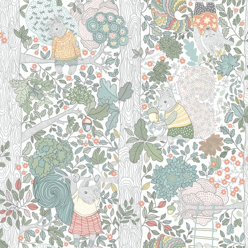 Papel pintado infantil Boras Tapeter Scandinavian Designers Mini 6251