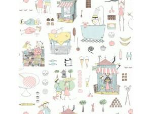 Papel pintado infantil Boras Tapeter Scandinavian Designers Mini 6243