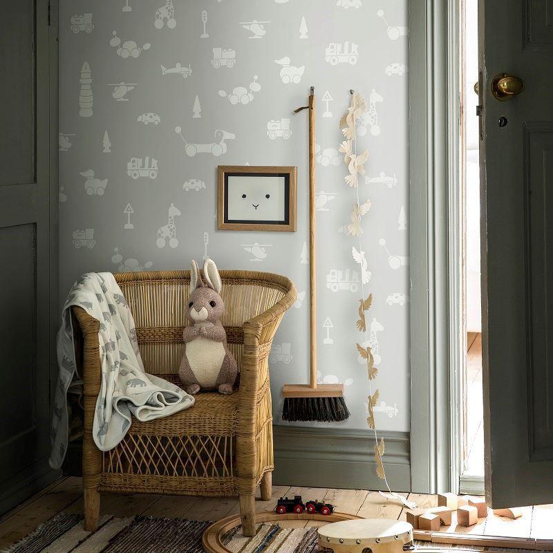 Papel pintado infantil Boras Tapeter Scandinavian Designers Mini 6239 A