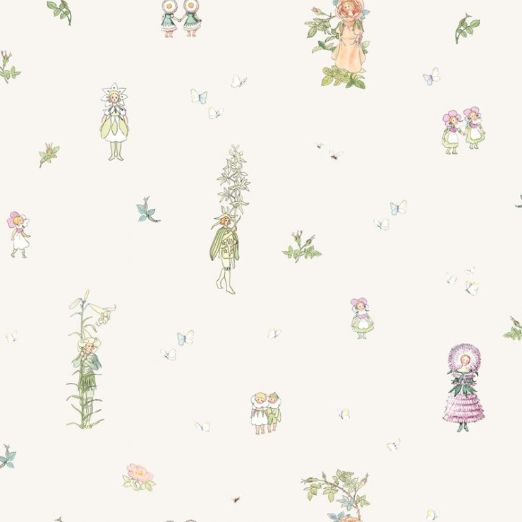 Papel pintado infantil Boras Tapeter Scandinavian Designers Mini 6236