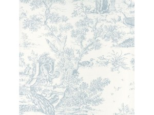 Papel pintado Casadeco Fontainebleau Paon FONT81556102