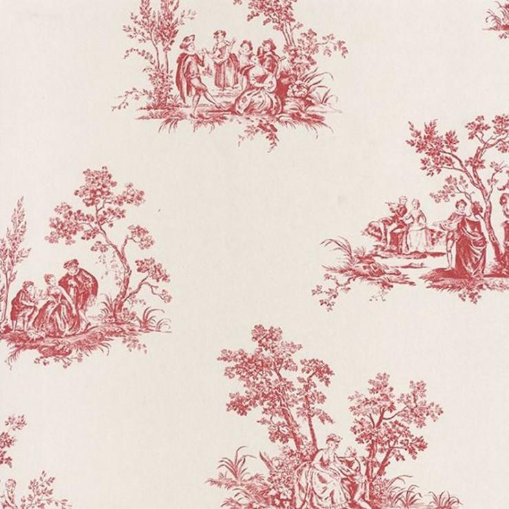 Papel pintado Casadeco Fontainebleau Scène Bucolique FONT81518102