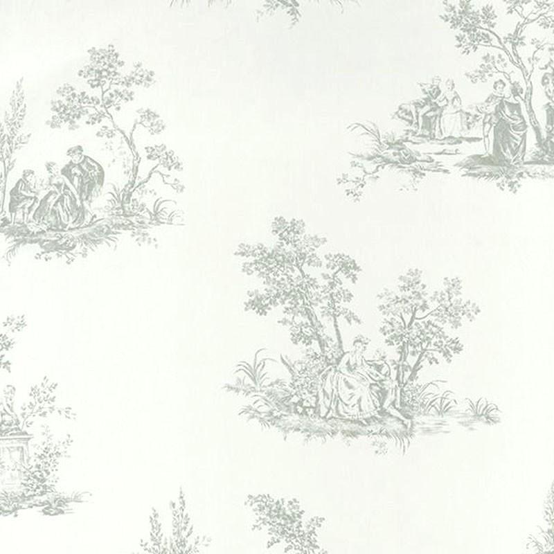 Papel pintado Casadeco Fontainebleau Scène Bucolique FONT81517105