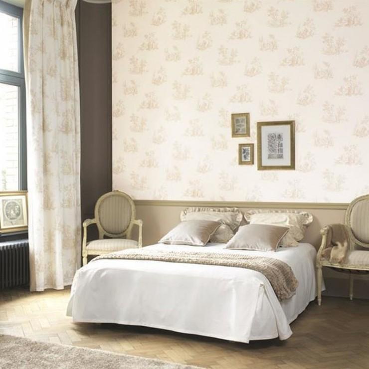 Papel pintado fontainebleau de casadeco papel pintado Papeles vinilicos para dormitorios