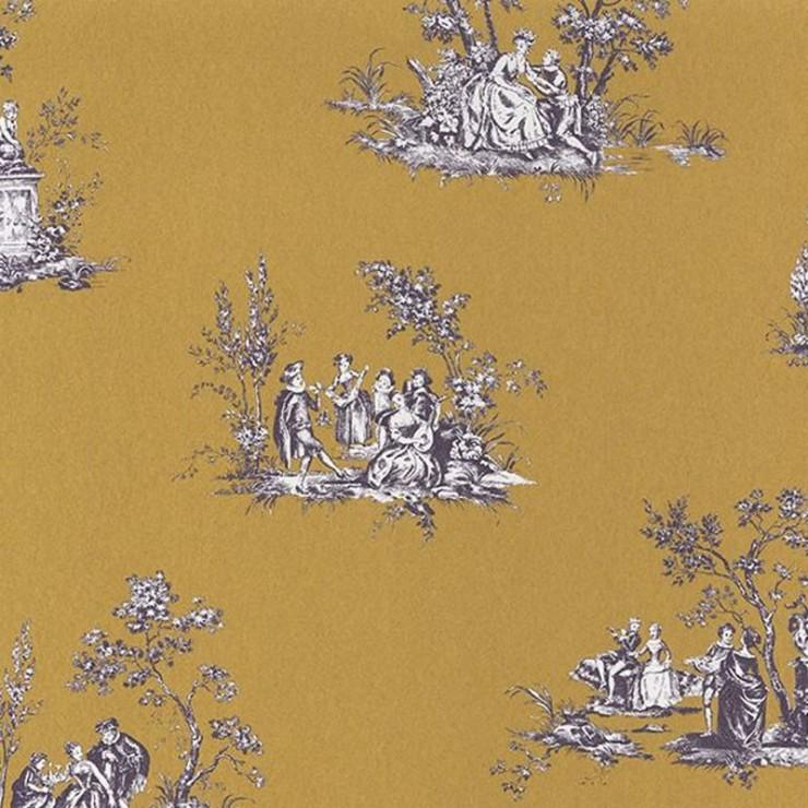 Papel pintado Casadeco Fontainebleau Scène Bucolique FONT81512104