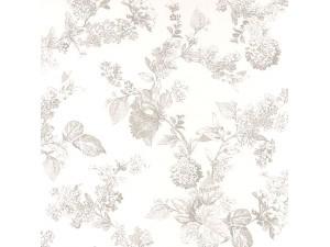 Papel pintado Casadeco Fontainebleau Fleur Gravure FONT81561203