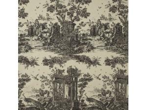 Tela Casadeco Fontainebleau Paon Reina Lin FONT81779103