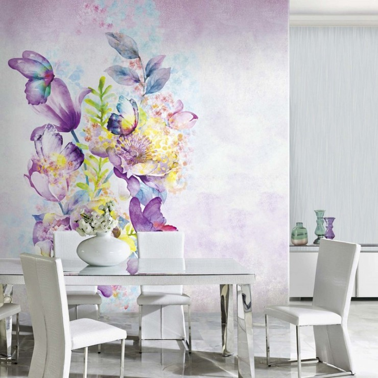 Panel decorativo Blumarine nº 3 Magia di Farfalle Crystal BM26104 A