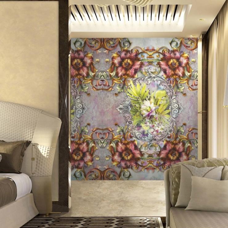Panel decorativo Blumarine nº 3 Decoro Tropicale Crystal BM26107 A