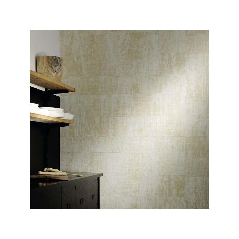 El doradp papel pintado pared dise o exclusivo rafia textil - Papel pintado diseno ...