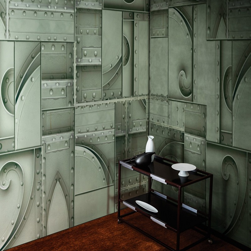 Mural Wall&Decò Contemporary Wallpapers 2018 Le Bilan d'Un Siecle WDBS1801 A