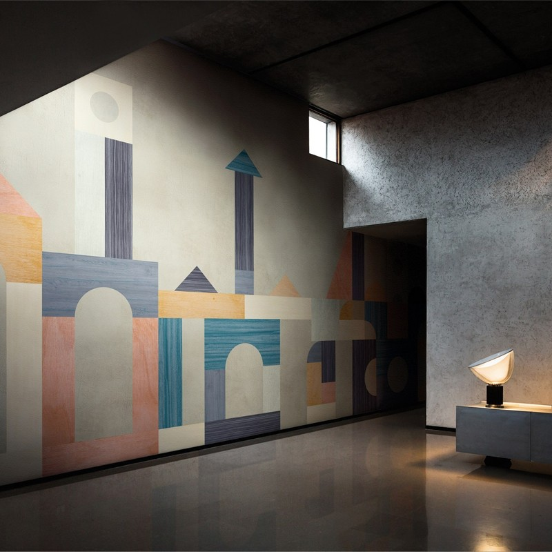 Mural Wall&Decò Contemporary Wallpapers 2018 Babilonia WDBA1801 A