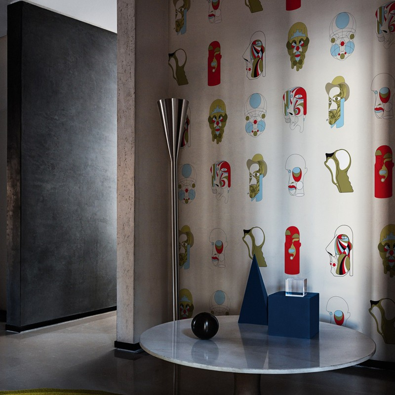 Mural Wall&Decò Contemporary Wallpapers 2018 Who is Who WDWW1801 A