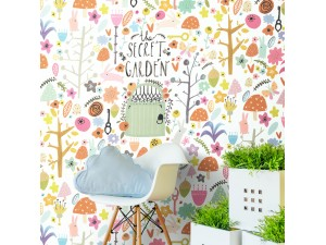 Mural infantil BN Wallcoverings Smalltalk 30804 A
