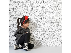 Papel pintado infantil BN Wallcoverings Smalltalk 219251 A