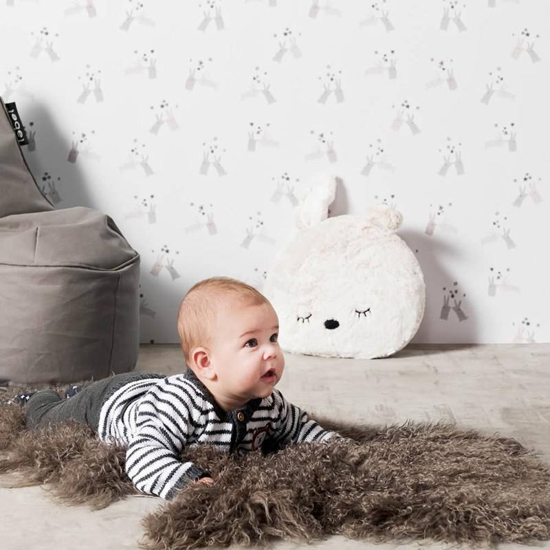 Papel pintado infantil BN Wallcoverings Smalltalk 219292 A