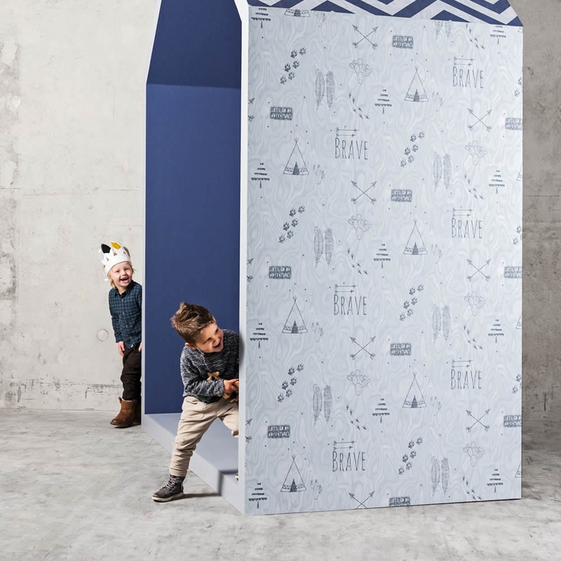 Papel pintado infantil BN Wallcoverings Smalltalk 219321 A