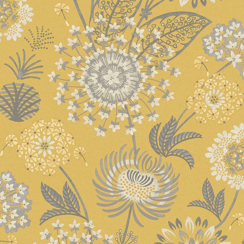 Papel pintado papel pintado floral bloom de arthouse - Papeles pintados vintage ...
