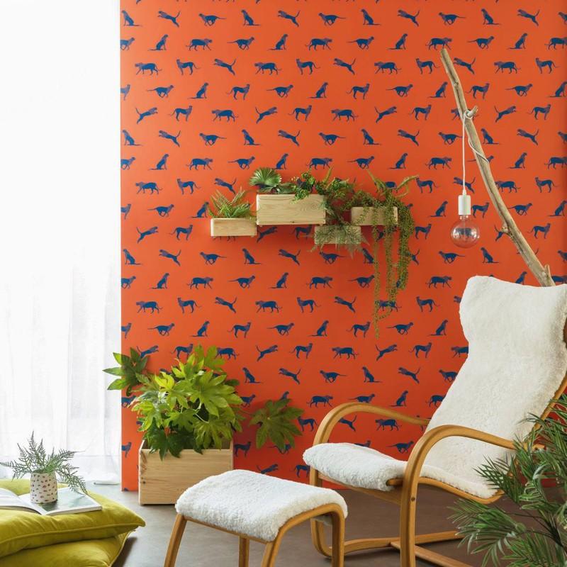 Papel pintado Caselio Smile Félin Pour L'Autre SMIL69743712 A