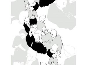 Papel pintado Marimekko Wallcoverings nº 5 Ystävät 23361