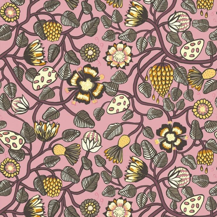 Papel pintado Marimekko Wallcoverings nº 5 Pieni Tiara 23331