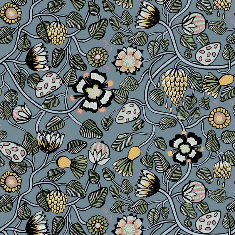 Papel pintado Marimekko Wallcoverings nº 5 Pieni Tiara 23330