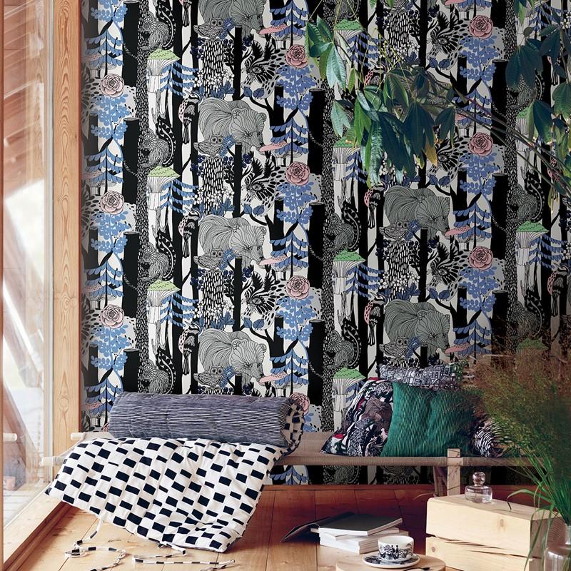 Papel pintado Marimekko Wallcoverings nº 5 Veljekset 23340 A