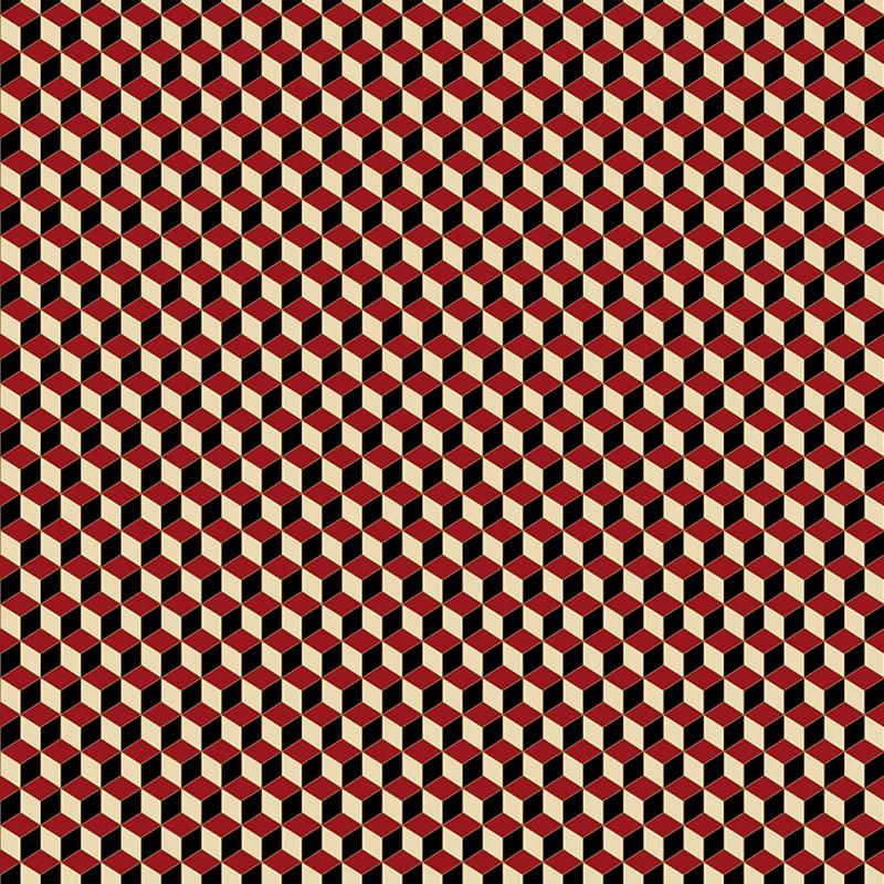 Papel pintado Jannelli Volpi M. C. Escher Little Cube 23154