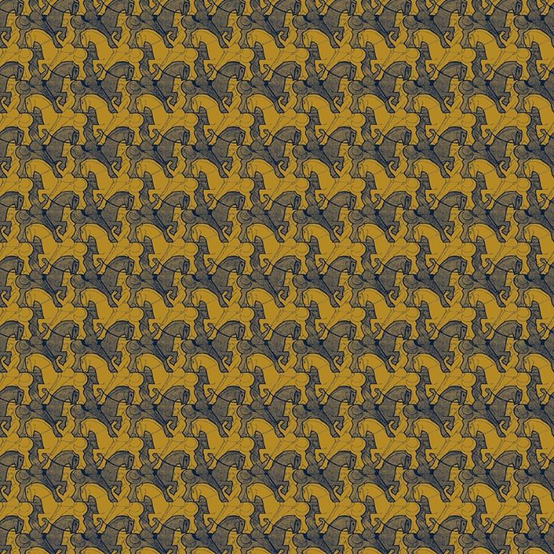 Papel pintado Jannelli Volpi M. C. Escher Horseman 23143