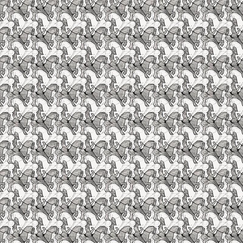 Papel pintado Jannelli Volpi M. C. Escher Horseman 23141