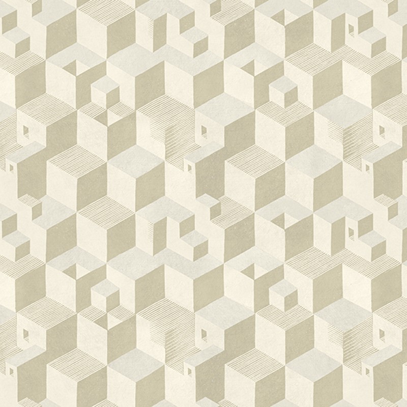 Papel pintado Jannelli Volpi M. C. Escher Cube 23152