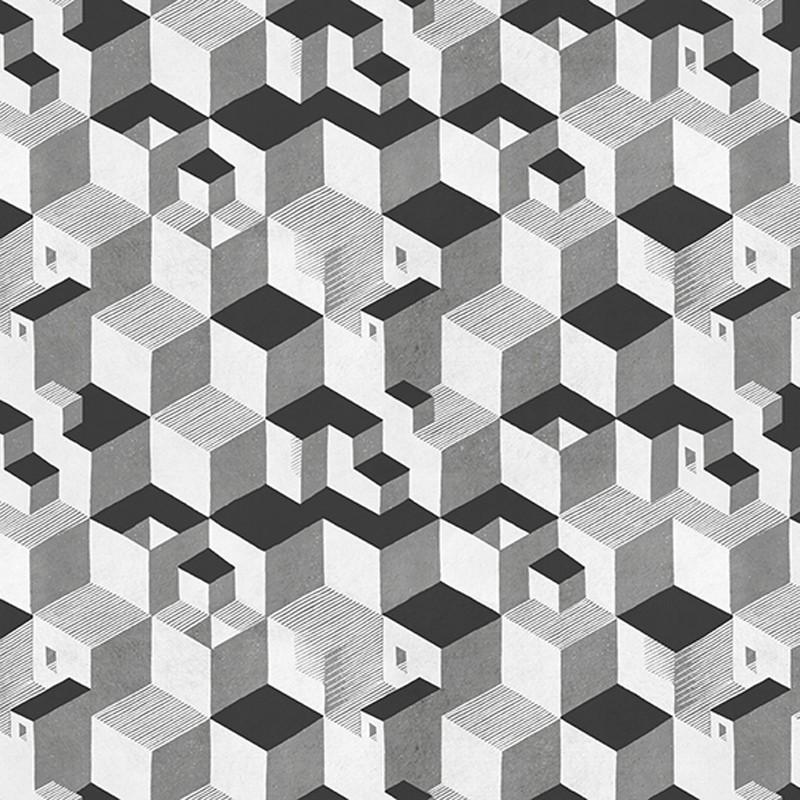 Papel pintado Jannelli Volpi M. C. Escher Cube 23151
