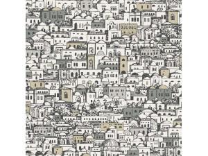 Papel pintado Cole & Son Fornasetti Mediterranea 114-7013