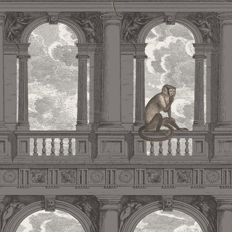 Papel pintado Cole & Son Fornasetti Procuratie con vista 114-8016