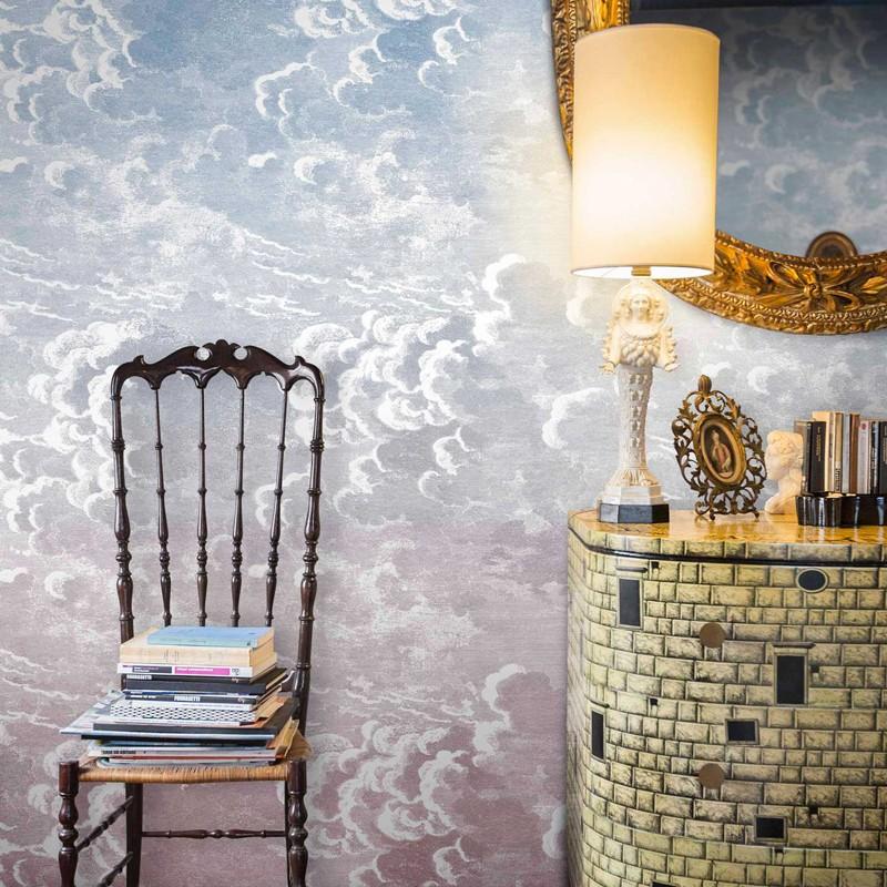 Mural Cole & Son Fornasetti Nuvole al Tramonto 114-3007 A