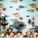 Fornasetti Acquario 97/10030 Cole & Son Papel pintado