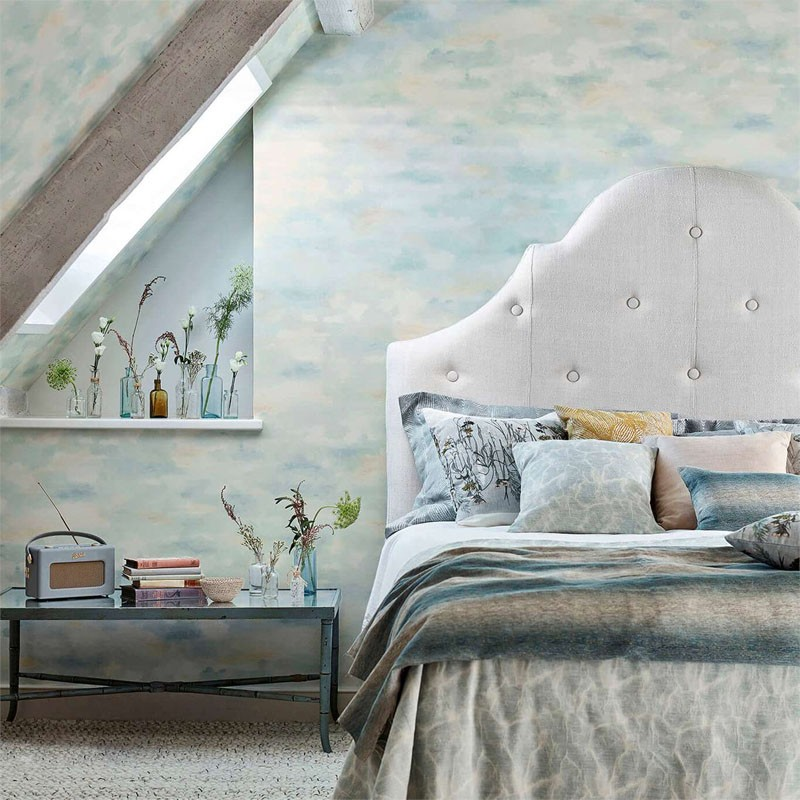 Papel pintado Sanderson Embleton Bay Bamburgh Sky 216515 A