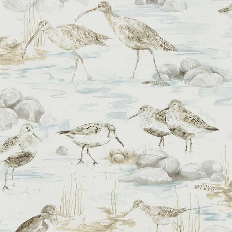 Papel pintado Sanderson Embleton Bay Estuary Birds 216492